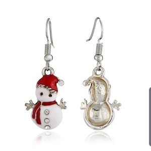 Jewelry - Snowman earrings